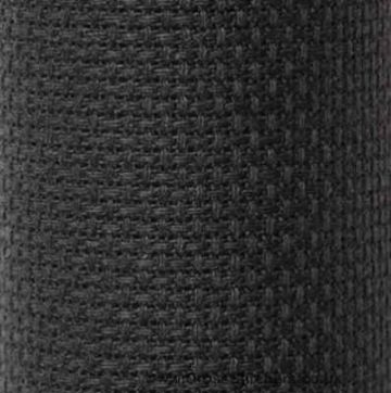 "Charles Craft Gold Standard 14 count Aida -Black 15"" x 18"""